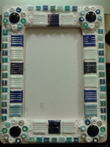 Mosaic frame landscape