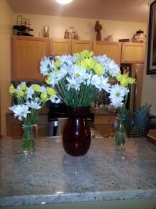 My favorite flowers: daisies