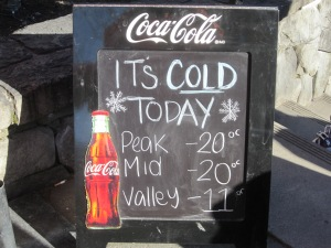 BRRR COLD!!!