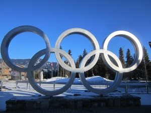 Olympic Rings, Whistler Olympic Plaza