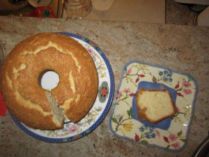 Delicious Coconut Pound Cake