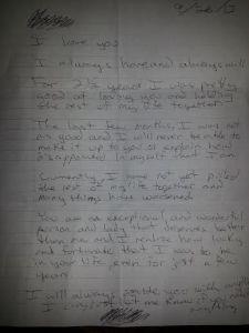 Ex Letter
